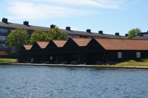 ...and some cool boat-shed-turned-offices